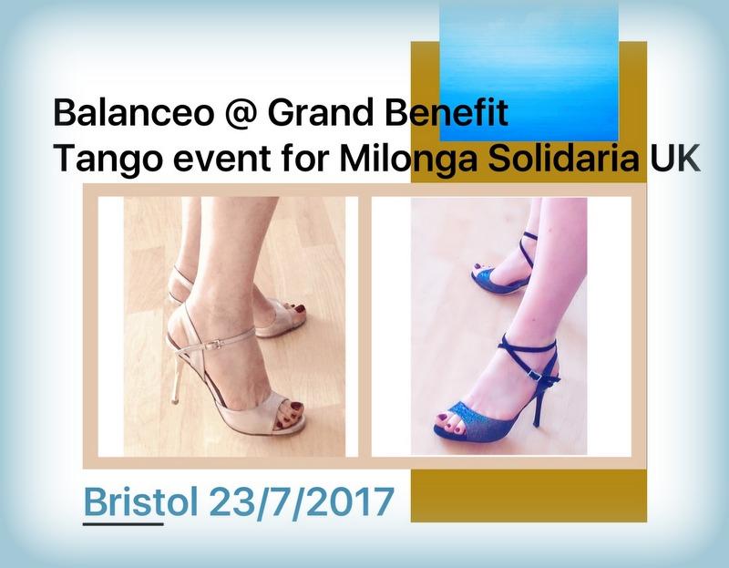 Balanceo @Grand Benefit Tango Event, Milonga Solidaria  – Bristol