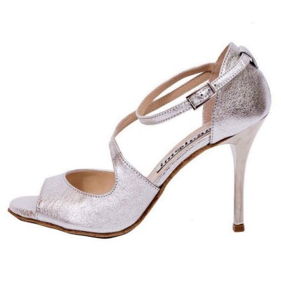 Venus Crack Silver Leather