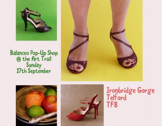 Balanceo Pop – Up Shop @ The ART TRAIL  – 17th September –  Telford