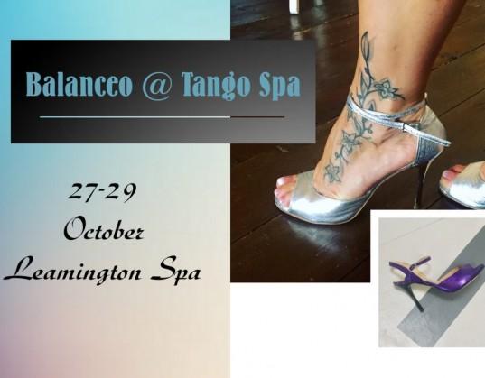 Balanceo @ Tango Spa, Leamington Spa, October 27th – 29th  2017