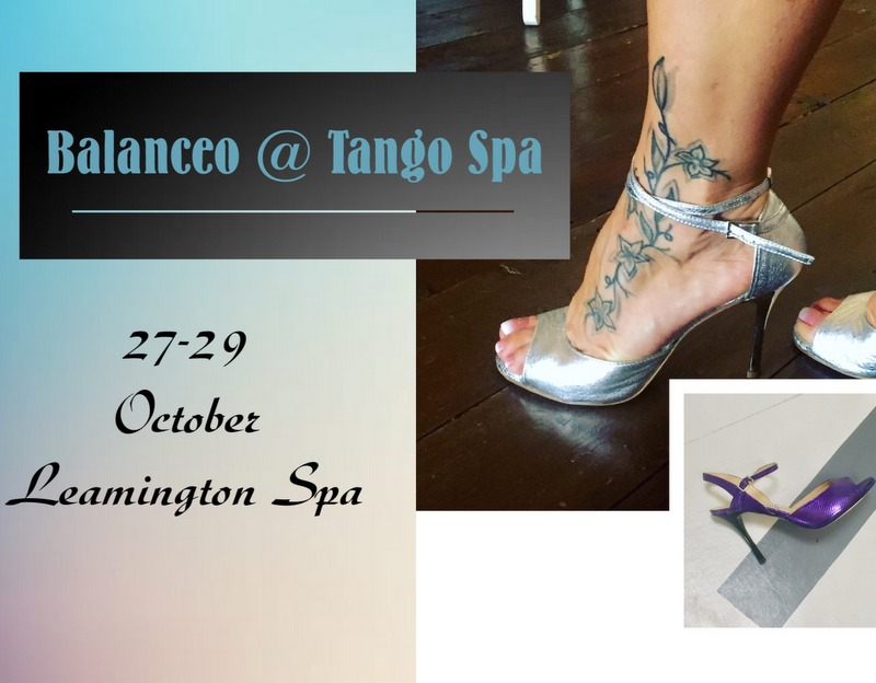 Balanceo @ Tango Spa, Leamington Spa, October 27th – 29th  2017