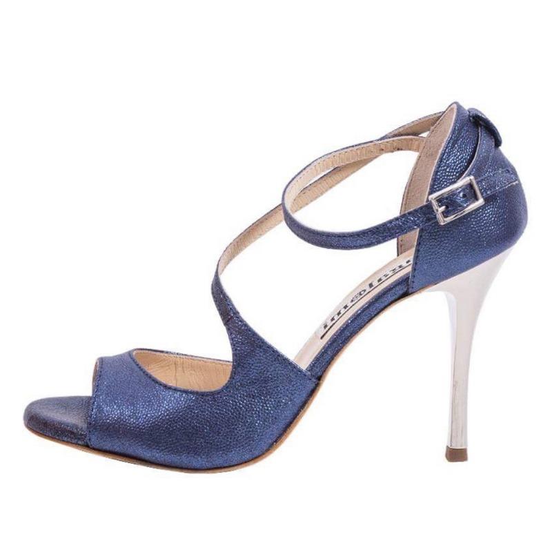 Venus Bullet Sapphire Blue Leather