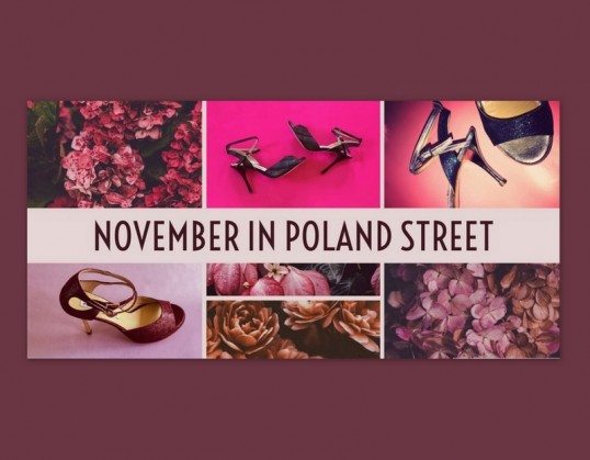 First Saturdays Pop – Up Boutique London 4th November  – London W1