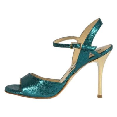 Maia Single Strap Turquoise Allure Leather