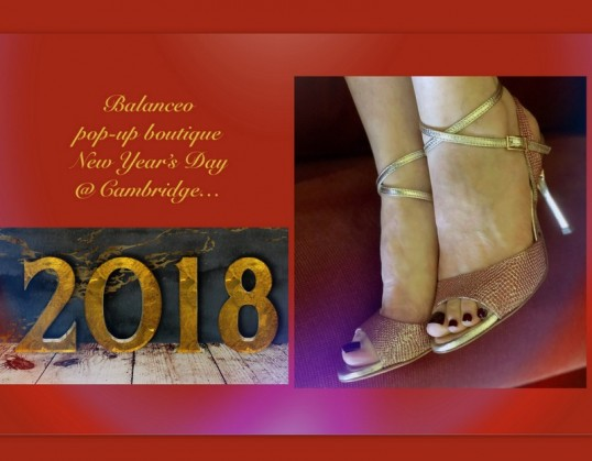 Balanceo Pop – Up Boutique- New Year's Day  – Cambridge