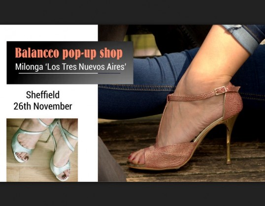 Balanceo Pop – Up Shop  – Sheffield, Sunday, 26th November