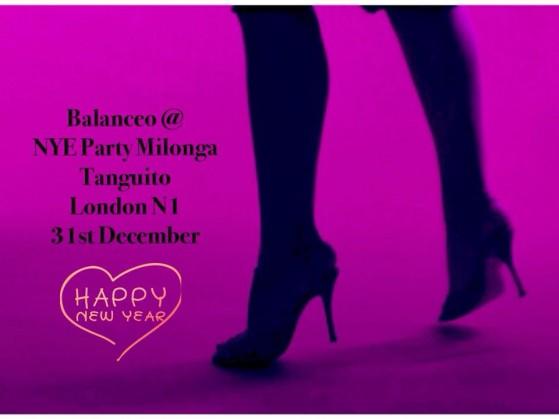 Balanceo @ Tanguito NYE Party. London N1