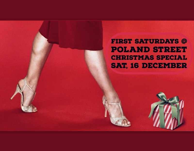First Saturdays Christmas Special  – 16th December  – London W1