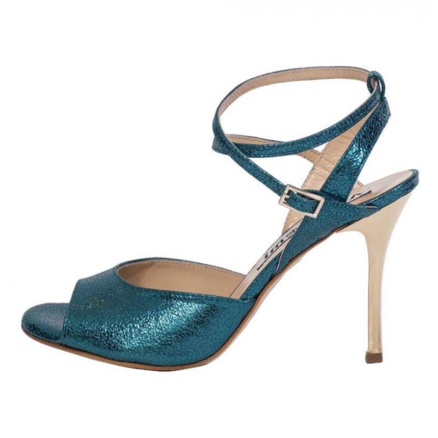 Rosa Double Strap Turquoise Allure Leather