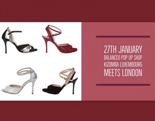 Balanceo Pop Up Shop @ Kizomba Luxembourg Meets London 27th January