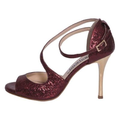 Venus Bordeaux Bullet Metallic Leather