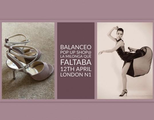 Balanceo Pop Up Shop @ LMDF  – Thursday 12th April , London N1