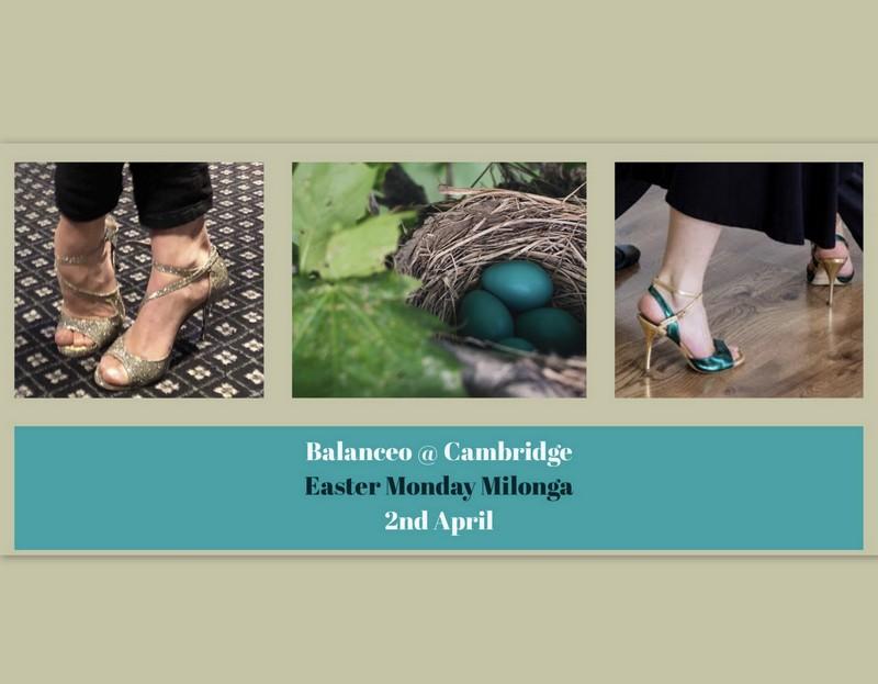 Balanceo @Easter Monday Milonga, Cambridge, 2nd April
