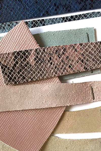 Balanceo Leather Samples for Heels