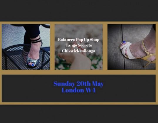 Balanceo Pop Up Shop@ Tango Secrets, Sunday 20th May, Chiswick, London W4