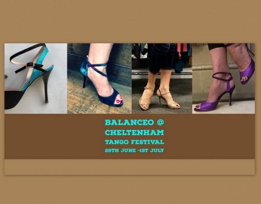 Balanceo Pop Up Shop @ Cheltenham International Tango Festival