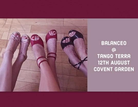 Balanceo pop up shop @ Tango Terra, Covent Garden, Sunday 12th August