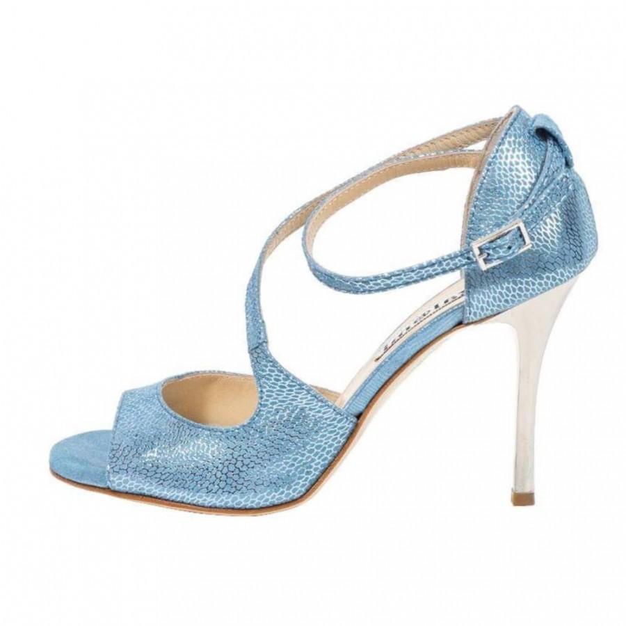 Venus Oasis Blue soft Leather