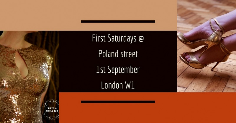 First Saturday Pop – Up Boutique London, 1st September