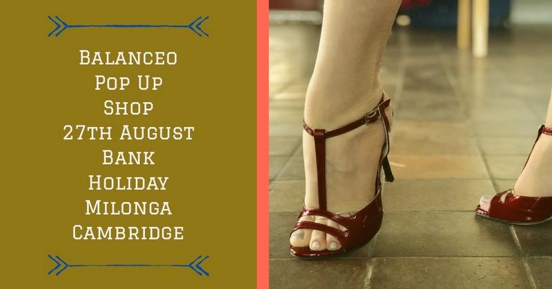 Balanceo @ Late Summer Bank Holiday Milonga, Cambridge, 27th August