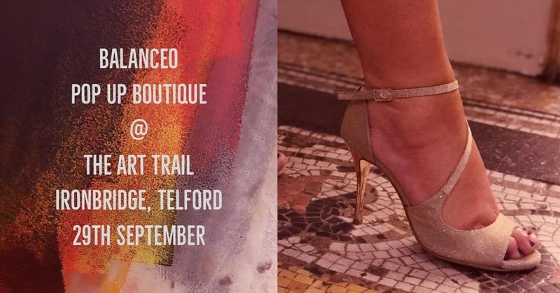 Balanceo pop up Boutique 29th September. Ironebridge, Telford