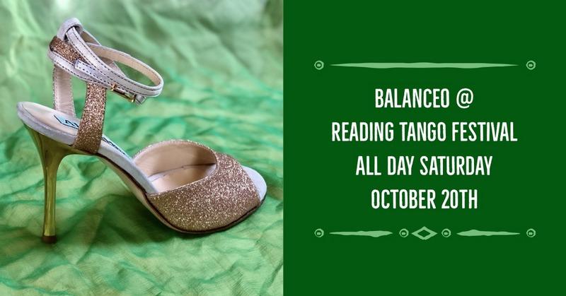 Balanceo @ Reading Tango Festival, Saturday 20th October