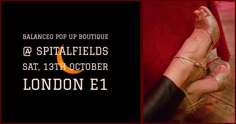 Balanceo Pop Up Boutique,Saturday 13th October, 3-7pm, Spitalfields, London E1
