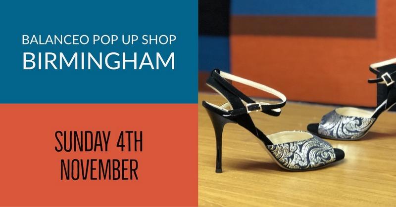 Balanceo Pop up Shop @Tango Midlands, Sunday 4th November