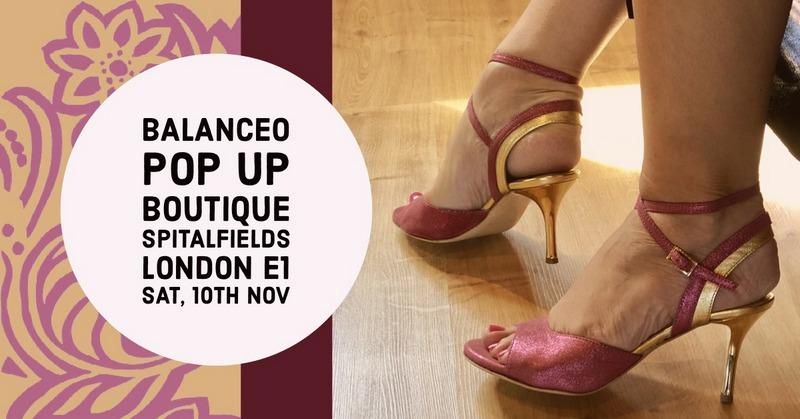 Balanceo Pop Up Boutique,Sat 10th Nov, ,2.30 – 6.30pm, London E1
