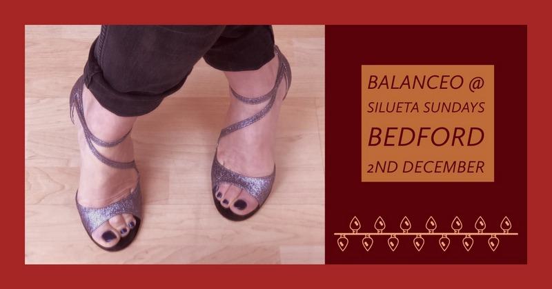 Balanceo Pop – Up Shop at Silueta Sundays Tea Dance, Bedford, 2nd December