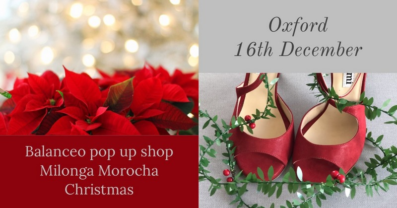 Balanceo Pop Up Shop @ Milonga La Morocha, Oxford, Sunday 16th December
