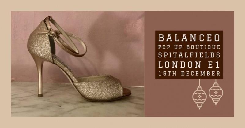 Balanceo Pop Up  Boutique,Sat 15th December, 2.30 – 6.30pm, London E1