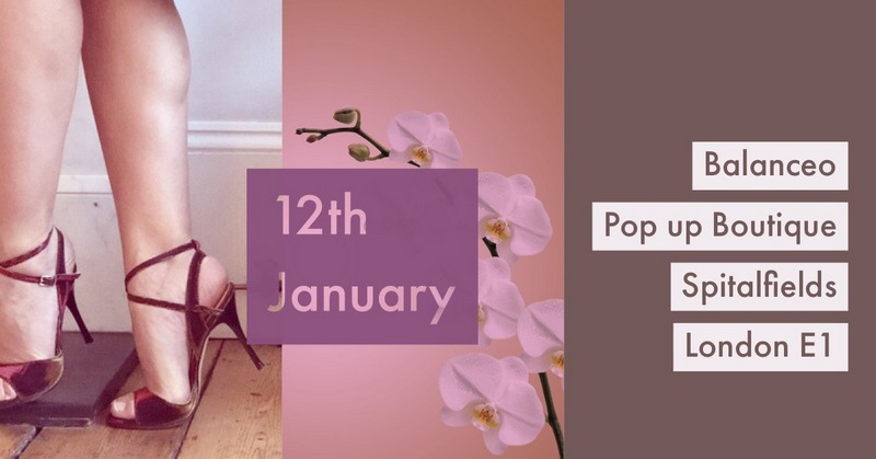 Balanceo Pop Up Boutique @ Spitalfields ,Sat 12th January 2019, London E1, from 1pm -5pm