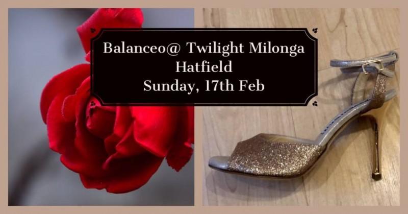Balanceo pop up shop at Twilight Milonga, Hatfield, Sun, 17th Feb