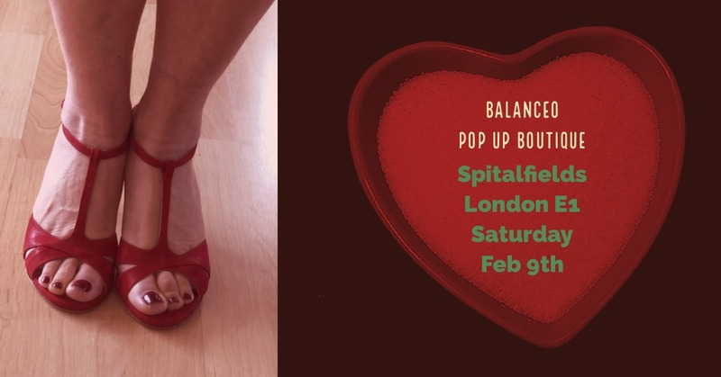 Balanceo Pop Up Boutique @ Spitalfields ,Sat 9th February 2019, London E1, from 1pm -5pm