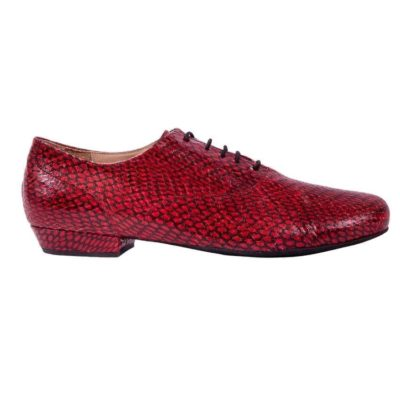 Classico Red Cobra Leather