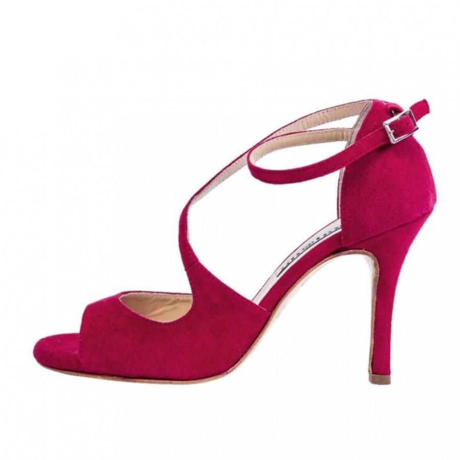 Venus in Carmine Red Soft Leather