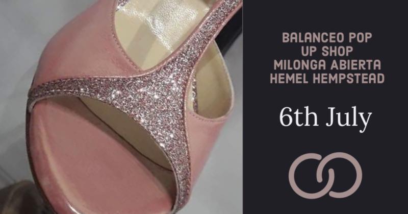 Balanceo pop up shop @ Milonga  Abierta, Sat 6th July, Hemel Hempstead
