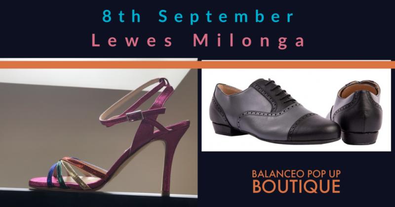 Balanceo@ Lewes Milonga, Sunday 8th September, Lewes