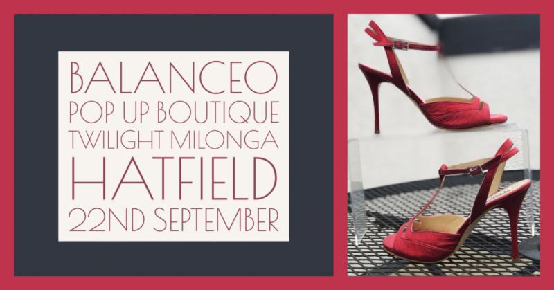 Balanceo @ Twilight Milonga. Sunday 22nd September  Hatfield