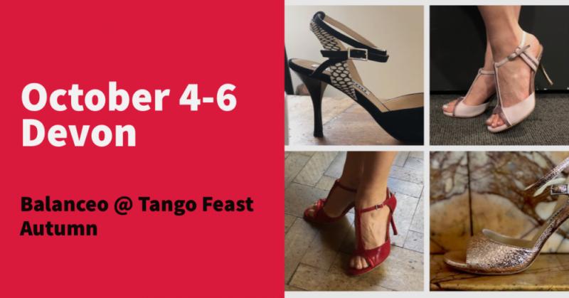 Balanceo Pop – Up Shop at Tango Feast, 4-6 October, Devon