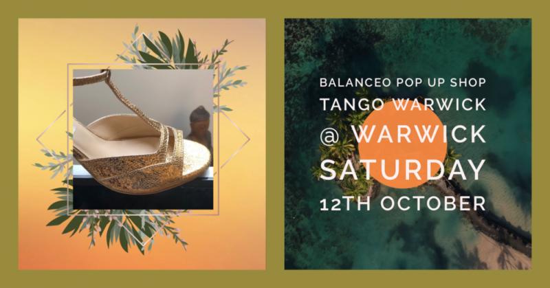 Balanceo Pop up Shop, Tango Warwick @Warwick, 12 October