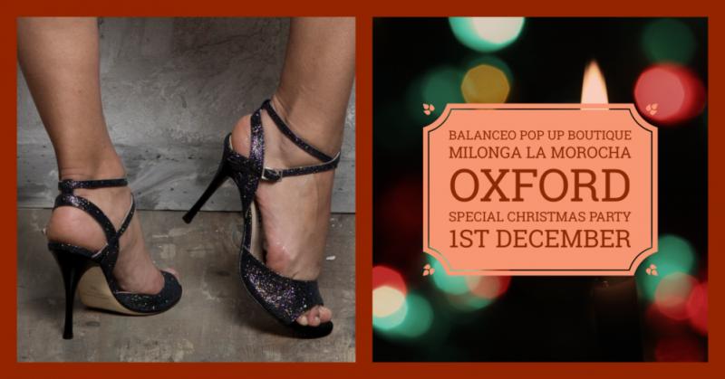 Balanceo Pop Up Boutique, Party Milonga La Morocha, Oxford, Sunday, 1st December