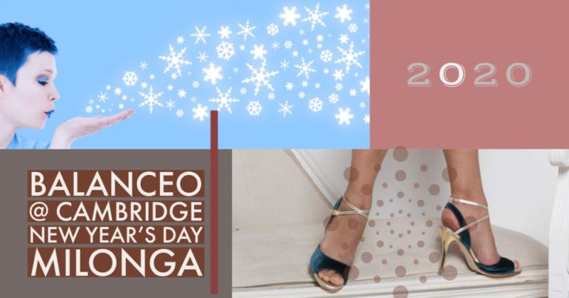 Balanceo@Cam Tango, New Year's Day Milonga. Cambridge , 1st Jan 2020