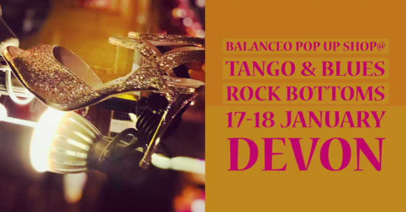 Balanceo Pop Up Boutique,@ Tango & Blues, Rock Bottoms, 17th – 18th January, Devon