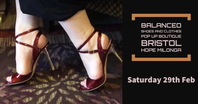 Balanceo @ Bristol Hope Milonga Saturday 29 February