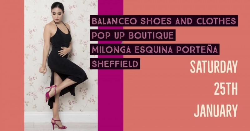 Balanceo at Milonga Esquina Porteña –  Sheffield, Saturday 25th Jan