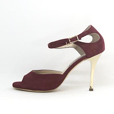 Soho ( I upper) Glossy Bordeaux  soft leather