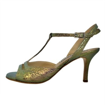 Alma Medusa iridescent metallic Leather