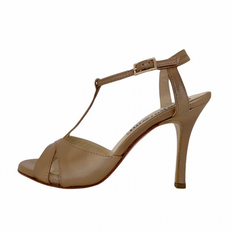 Maleva Sahara Nappa Leather Coated leather Heels